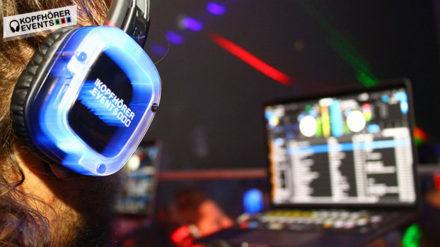 Silent Disco, Silent Party, Kopfhörer Party, Silent Events, Kopfhörer Events, Silent Disco Equipment, Silent Disco mieten, Silent Disco kaufen, Silent Party Kopfhörer, Silent Disco DJ